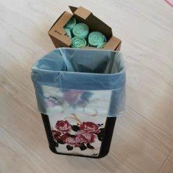 Amigo do ambiente por grosso de amido de Cor Personalizado Impresso 100% Compostável sacos de lixo de plástico biodegradável no rolo