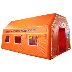 Conjunto rápido Exército hermético tenda a desinfecção insuflável tenda médica com certificado
