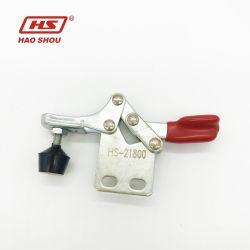 HS-21800 Mini مشبك تحرير سريع أفقي صغير 66 رطلاً مع مستقيم القاعدة