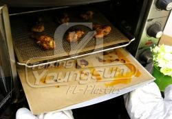 Fodera antiaderante e termoresistente di colore di 30*40 cm Brown del commestibile del forno