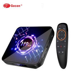 最新の H9 X3 Android 9.0 TV Box S905X3 4GB 32GB 64GB Ultra HD セットトップボックス 8K 4K 1080p HDR デュアル WiFi メディアプレーヤー STB