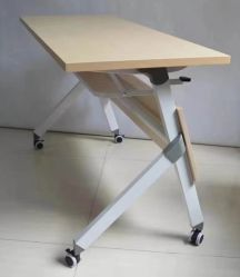 Muebles modernos muebles de la Escuela de Formación de plegado de la Oficina Escritorio Hotel reunión de la Conferencia Mesa Flip