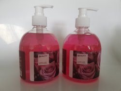 Hotleの販売の自然な液体のローズ手の石鹸