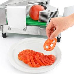 Manufacture de gros manuel du hacheur de paille de tomate en alliage aluminium