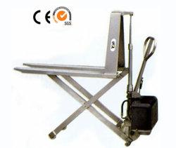 En acier inoxydable de type ciseaux à haut relevage chariot(série HS)