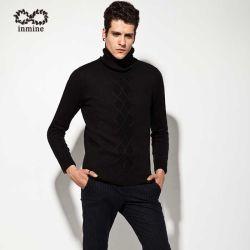 Odm Cable Knit Turtleneck Man Sweater Garment