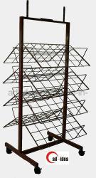 Boissons Soda Pop sur le fil de métal Stand Présentoir de sol en rack