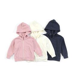 맞춤 로고 집 - 후디 어린이 조거 스웨트셔츠 어린이 아이 걸스 탑 후드 재킷