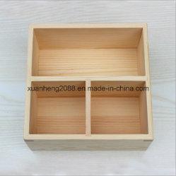 Малые незаконченные деревянные коробки для кораблей