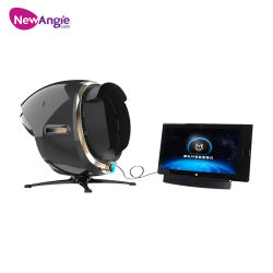 Кожу лица анализатор цифровых портативных наружного зеркала заднего вида для лица Magic лупы с 3D-Салон красоты кожи проверка машины