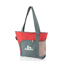 Custom Resable Poly Canvas Leden Promotioneel Winkelen Printed Tote Bag Voor leden cadeau