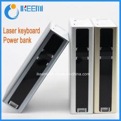 A mais nova projecção laser Virtual Teclado Bluetooth com 5200mAh banco de Potência