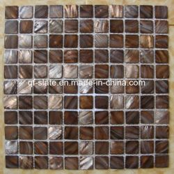Farbige Shell-Mosaik-Fliese (M-QF10)