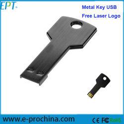 Freies Laser-Firmenzeichen-wasserdichtes Minischlüssel USB-Blitz-Laufwerk (ED042)