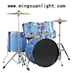 Insieme del timpano di jazz del PVC della vernice degli strumenti di musica di percussione 5PCS