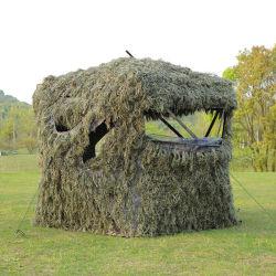 위장전조 이중 남자 블라인드 덕 사냥 맹인사냥 오두막 실외용 텐트