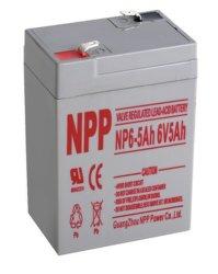 警報システム6V5ah手入れ不要電池UPS電池Np6V-5ahのための再充電可能なSLA電池