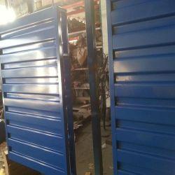 Simple face Heavy Duty palette en acier de l'entrepôt industriel /bac