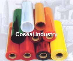 Cor flexível transparente de plástico opaco PVC pano de mesa