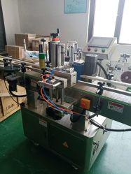 Runde Flaschen-automatische vertikale Etikettiermaschine voll in Position bringen, um ein oder zwei Kennsätze zu wählen