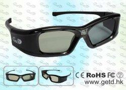 Batterie rechargeable Home Cinéma 3D projecteur DLP Link lunettes 3D Active Shutter (GL400)