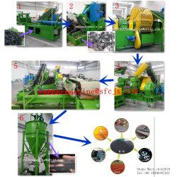 Resíduos automática alta/pneu usado máquina de produção de reciclagem Máquina Triturador de pneu com marcação ISO9001 SGS