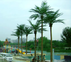20f ARTIFICIEL PALMIER de noix de coco pour la décoration de jardin