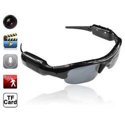 Envío rápido de OEM Seguridad CMOS HD Mini cámara grabadora de vídeo gafas de sol Rt-306
