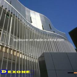 Aerofoil de aluminio persiana exterior de la arquitectura