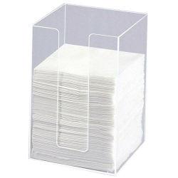 Номера делюкс ясно акриловой ткани в салоне прозрачный держатель Napkin Plexiglass