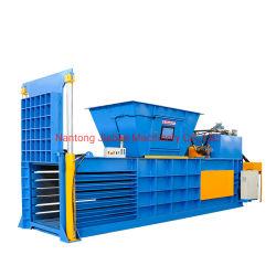 유럽 품질 수평 유압 폐기물 플라스틱 압축 및 포장 기계 폐기물 봉오막/농업 필름/연성 플라스틱 관류관류용 튜브