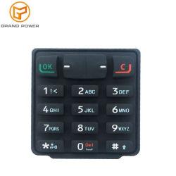 OEM/ODM geleidende het Schilderen Laser die het Mobiele Toetsenbord van de Knoop van de Aanraking van het Silicone van de Telefoon etsen