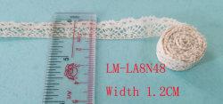 Vêtements Accessoires couleur détail bricolage Artic Drawnwork Chemical Trim Woven Crochet à broderie ondulée 12mm 1,2cm Vente à chaud porte-monnaie taille coton Rouleau de dentelle pictu