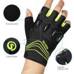 LED-handschoenen voor fietsen met motorhandschoenen voor motorfiets LED-handschoenen voor motorcycling Handschoenen