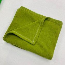 아기 담요 100%년 폴리에스테에 의하여 인쇄되는 극지 양털