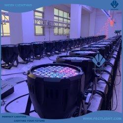 새로운 디자인 RGBW/RGB/W가 적용된 54 * 3W LED PAR Stage Light