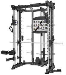 CM-5015 다기능 랙 체육관 장비 트레이닝 기계 스미스 머신 피트니스 가정용 근력 장비