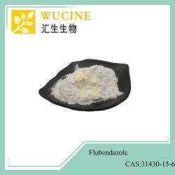 Top Grade anthelminthique de matières premières Flubendazole 31430-15-6 99 %
