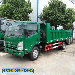 새로운 가벼운 의무 Isuzu 4X2 10m3 덤프 트럭 10tons에 의하여 사용되는 팁 주는 사람 트럭