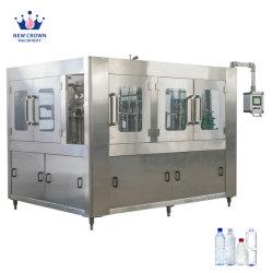 병 선 플랜트 음료 자동적인 병 채우게를 채우는 주스에 의하여 탄화되는 음료 소다 또는 청량 음료 무기물 또는 순수한 물 액체