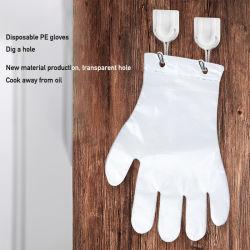 На заводе оптовой АНТИБАКТЕРИАЛЬНАЯ ОБРАБОТКА продовольствия 100 ПК/пакет HDPE LDPE полиэтилен пластиковых одноразовых перфорации стороны перчатки