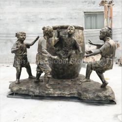 Estatua de la Artesanía de metal personalizados Escultura de bronce de fundición (GSBR-309)