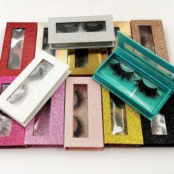 Nuevo diseño hecho a mano de alta calidad Precios baratos paquete personalizado de cada conjunto de pestañas postizas sintético