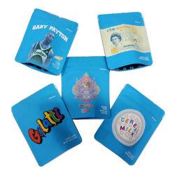 Flexible Zipper Ziplock Stand Up Pouch Kraftpapier Plastikverpackung Gefrorene Meernahrung Reis Kaffee Tee Snack Obst Weed Bag