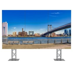 46pulgadas LCD 3x4 LED bisel ultra estrecho de la pantalla LCD Multi video wall Pared de vídeo para publicidad