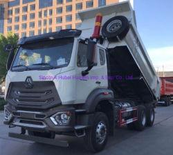 عجلات جديدة من نوع Sinotruk HOWO للخدمة الشاقة E7g 10 X4 18 شاحنة قلابة لتفريغ التعدين بقدرة 20cbm 371HP لنيجيريا/موزمبيق/زيمبابوي