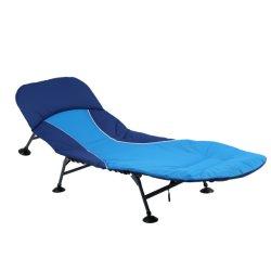 El algodón Salón portátil plegable Silla de playa Camping cama plegable para el ocio
