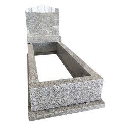 Традиционная Австралийская стиле Tombstone памятник с Китаем серого гранита камня