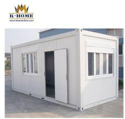Portátil temporal Vivienda Construcción de la unidad de vivienda de contenedores