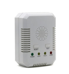 Co+Ex Casa fixo de gás de cozinha de Alarme do Detector